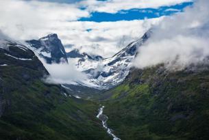Leyendas vikingas: la cara más aventurera de fiordos de Noruega