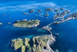 El norte de Noruega a tu aire en coche de alquiler (8 días)