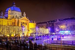 Croacia: Mercadillos navideños en Zagreb