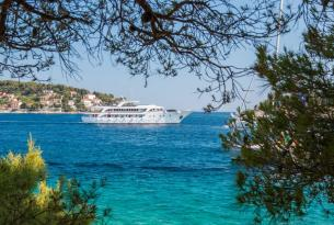 Crucero de lujo por Croacia: las islas Dálmatas desde Split