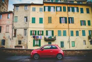 La Toscana en coche: Florencia, Siena, Pisa y más
