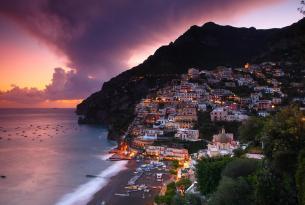 Italia: La Costa Amalfitana en vehículo de alquiler