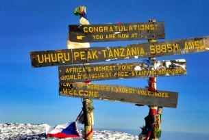 Trekking Kilimanjaro Ruta Machame 11 días en grupo