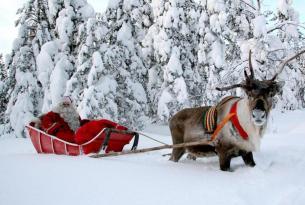 Finlandia: cabañas en Laponia, Rovaniemi y la aldea de Papá Noel