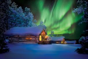Auroras boreales en Tromso (Noruega)