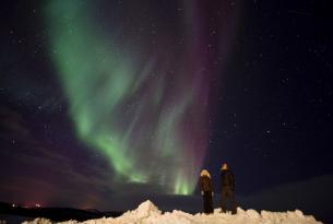 Auroras boreales en Alta ( Laponia Noruega)