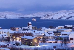 Auroras boreales en Tromso y Kirkenes pesca cangrejo real.