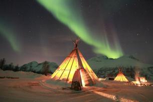 Noruega: auroras boreales y ballenas, la magia del Ártico