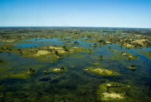 La Ruta de los 3 Rios y la Reserva del Kalahari (Flying Safari)