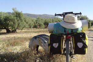 Camino de Santiago en bicicleta desde León