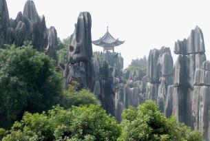 """China: Pekín y los paisajes de la película """"Avatar"""" en el bosque de piedra de Kunming"""