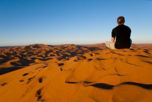 """5 dias  """"low cost""""  desierto de Merzouga (con noche en Jaima en el campamento)-sin aereo -  MARRUECOS"""