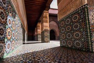 FIn de año en Marruecos con vuelo desde Barcelona (noche del 31/12 en jaima)