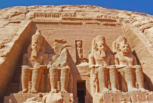 Circuito Cairo  &  crucero por el Nilo con visita incluida Abu Simbel con Luz y Sonido sin  aéreo (Supto aéreo opcional)