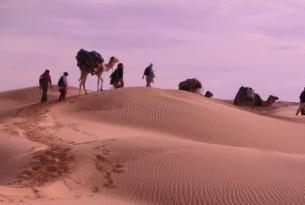 Túnez -  Senderismo en las dunas del erg oriental.  - Especial Semana Santa