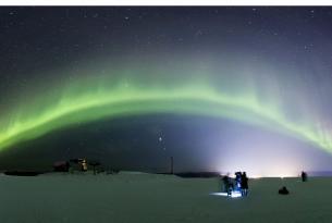 Finlandia -  Auroras Boreales en Saariselka con I. Rovira - Salidas en Marzo y Abril