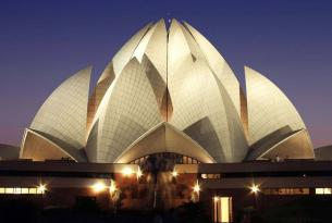 Una semana en el Triángulo Dorado de India con coche privado, media pensión, vuelos y más