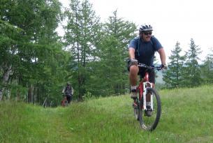 Viaje en Bicicleta MTB Mongolia, por la región de Bulgan.