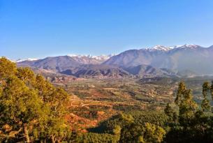 Viaje en bicicleta. Marruecos, por el Atlas y el desierto y el Valle del Dades