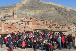 Carnavales en Albarracín en Grupo