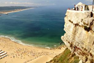 Senderismo en grupo : Costa de Nazaré, Praia da Vieira y Serra de Candeeiros