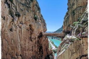CAMINITO DEL REY, MÁLAGA Y SU COSTA · Puente de Diciembre