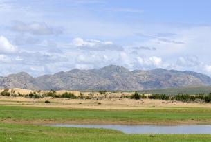 Los horizontes infinitos de Mongolia en grupo