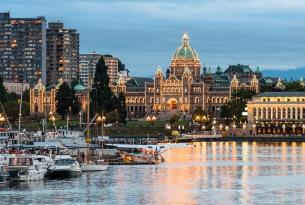 Maravillas del Pacífico: de Anchorage a Vancouver (Alaska y Canadá)