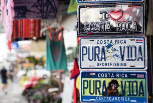 Todo Costa Rica  con Corcovado a tu aire en coche de alquiler (el tour económico), 21 días (20 noches).
