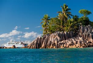Paraíso en las Seychelles. Crucero boutique de 5 días