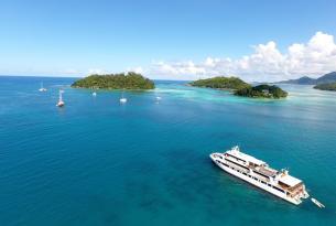 Seychelles paradisíacas a bordo de un yate boutique (8 días)