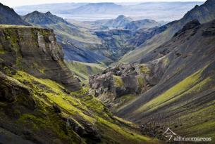 El Trekking de Landmannalaugar en Islandia