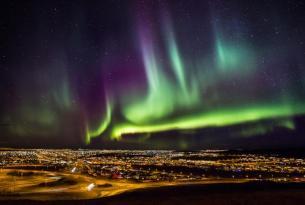 Escapada Aventura Confort en Islandia: auroras y glaciares (4 días)