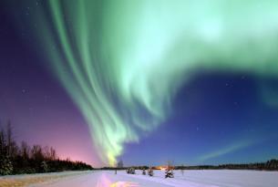 Puente de Noviembre en Noruega: Lofoten, auroras boreales y ballenas (aventura confort)