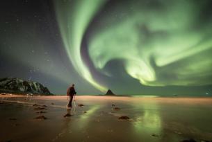 Maravillas de Noruega y auroras boreales: Lofoten y fiordos en septiembre y Puente del Pilar (14 días)