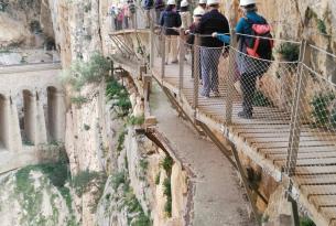 Senderismo en Málaga: Caminito del Rey - Peñón de Gibraltar - Torcal de Antequera