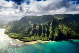 Tres islas de Hawái: Oahu, Kauai y Maui