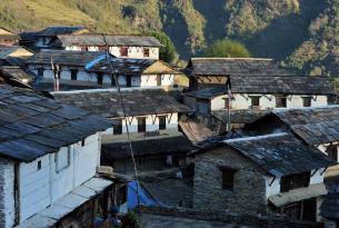 Trek en Nepal a Ghandruk y Poon Hill