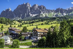 Combinado Italia natural: los lagos del norte y los Dolomitas desde Milán
