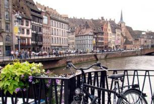 Francia: Alsacia Romanica en bicicleta