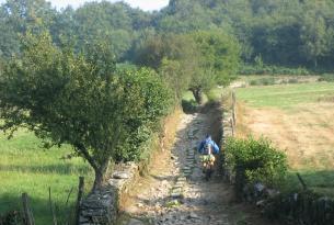 La entrada a Galicia, camino de Santiago (Autoguiado intermedio)