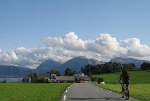 Noruega: alrededor de Sunnhordland en bicicleta y ferries