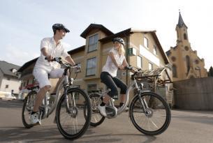 En bicicleta por  los lagos de Salzburgo
