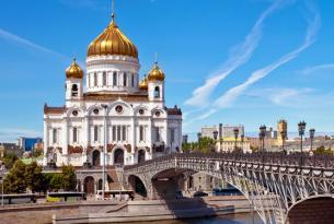 Rusia, Riga y Capitales Imperiales (Moscú - Roma)