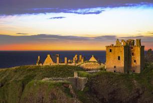 Escapada por la costa Este de Escocia: del castillo Dunnotar hasta Aberdeen