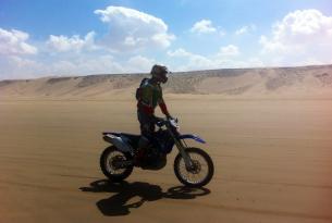 Viaje en moto enduro Marruecos Atlas y Erg occidental , Yamaha WR450