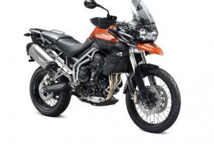 Viaje en moto Mallorca, alquiler de Triumph Tiger 800  (Alquiler minimo 1 día)
