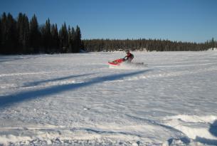 Viaje en moto de nieve USA Alaska 2 opciones... Willow y Eureka