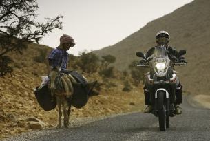 Viaje en moto Marruecos Desafio Yamaha 2015 7 dias 5 en moto