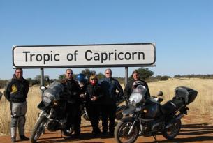 Viaje en moto BMW Sudáfrica. De Ciudad del Cabo a Windoek